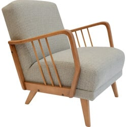 German armchair with fine armrests - 1970s