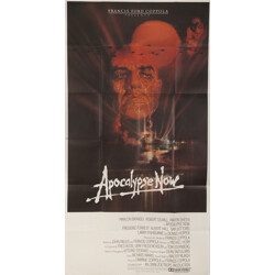 "Original poster of the movie ""Apocalypse Now"" from the producer Francis Ford Coppola - 1970s"