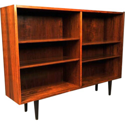 Poul Hundevad rosewood bookcase with several compartments, Carlo JENSEN  - 1960s