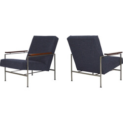 """Pair of """"Easy chairs"""" Gelderland, Rob PARRY - 1950s"""