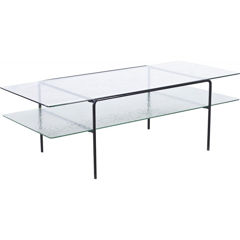 Gispen Glass Coffee Table André Cordemeyer 1950s