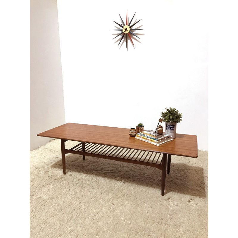 long coffee table by ib kofod ln 1960s design market