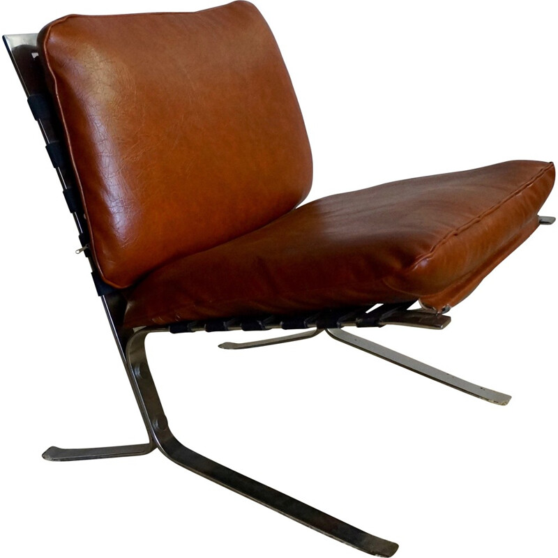 "Set of 4 ""Joker"" armchairs by Olivier Mourgue - 1960s"