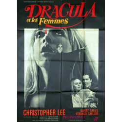 """Movie poster """"Dracula has risen from the grave"""" - 1968"""