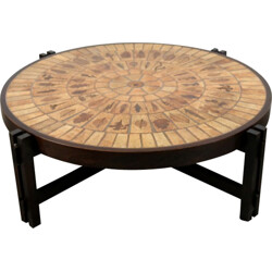 Coffee table by Roger Capron - 1960s