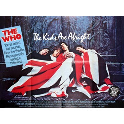"""Movie poster """"The Who the kids are alright"""" - 1979"""