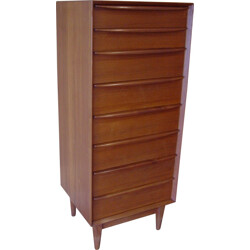 High chest of drawers Falster - 1970s
