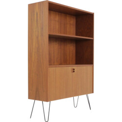 Danish teak Bookcase with shelves - 1960s