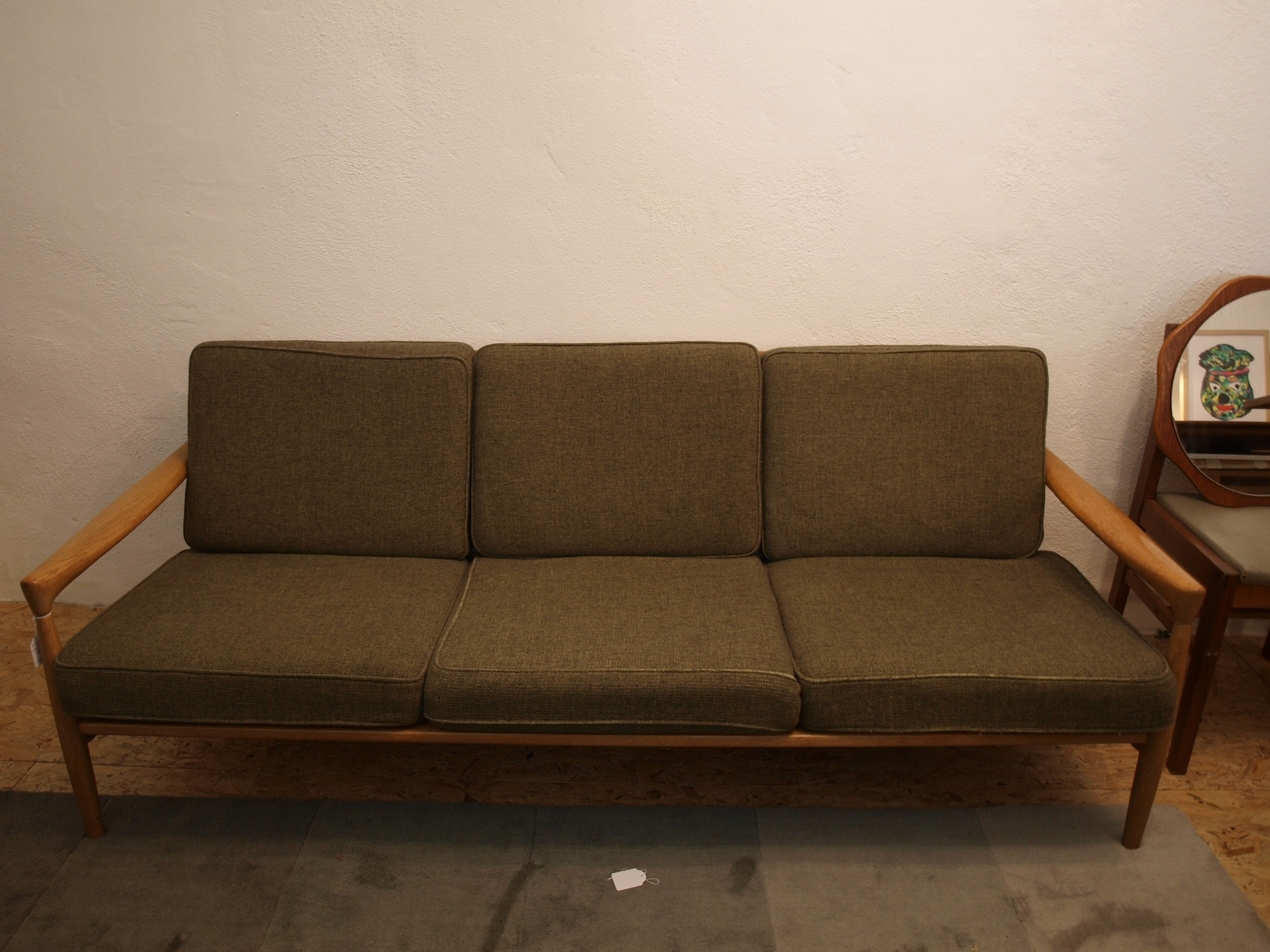 Scandinavian sofa Erik WORTZ 1960s Design Market