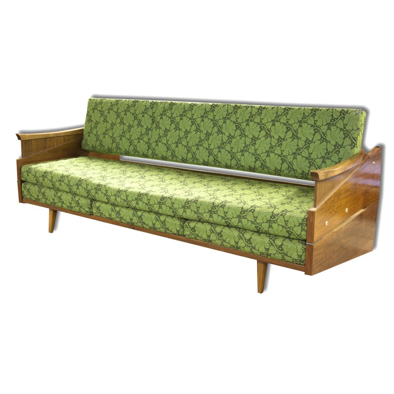 Czech Mid Century Sofa Bed 1960s