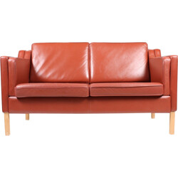 Two-Seater leather sofa - 1990s
