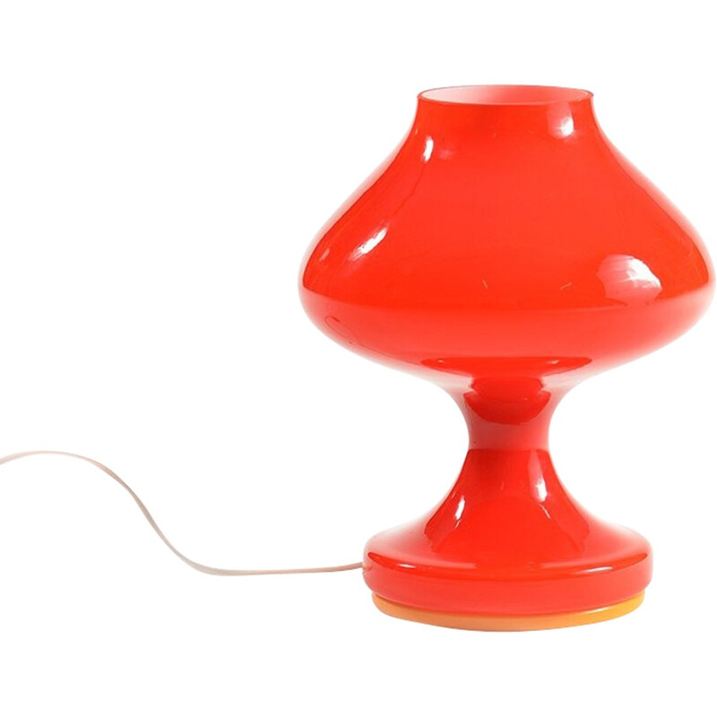 Red lamp Štěpán Tabery - 1970s