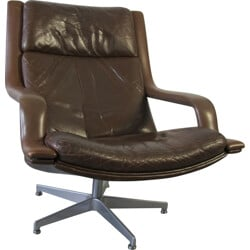 """""""F140"""" lounge chair by Geoffrey Harcourt for Artifort - 1970s"""