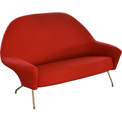 Set of sofa and armchair Joseph-André Motte - 1950s