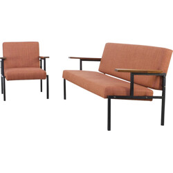 Set of sofa and armchair - 1960s