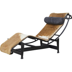 Le Corbusier, Pierre Jeanneret & Charlotte Perriand LC4 pony skin - 1930s