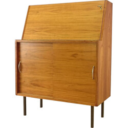 Scandinavian writing desk in teak - 1950s