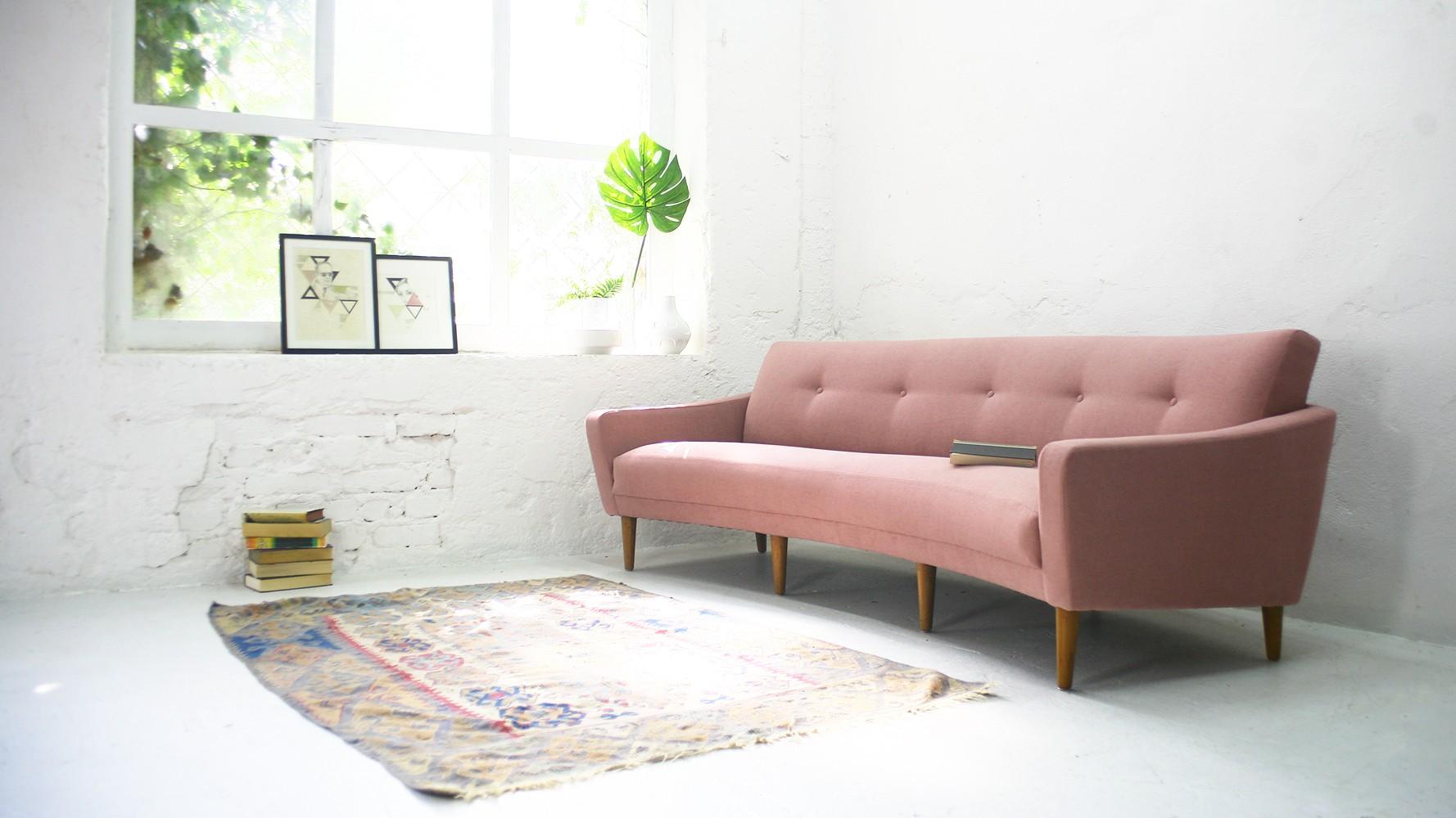 Arc-shaped sofa - 1950s - Design Market