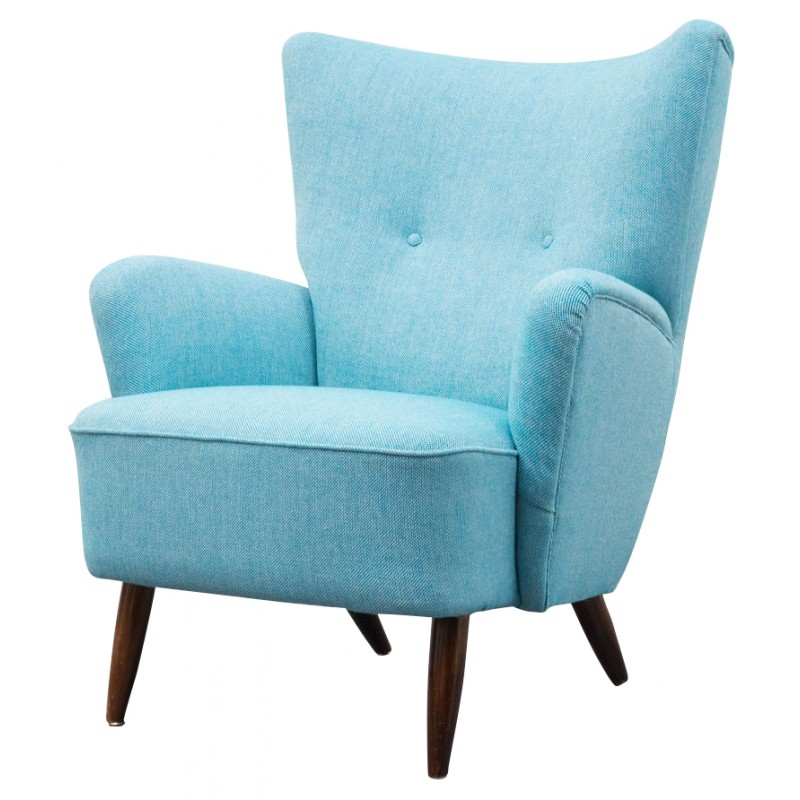 Light Blue Armchair   1950s