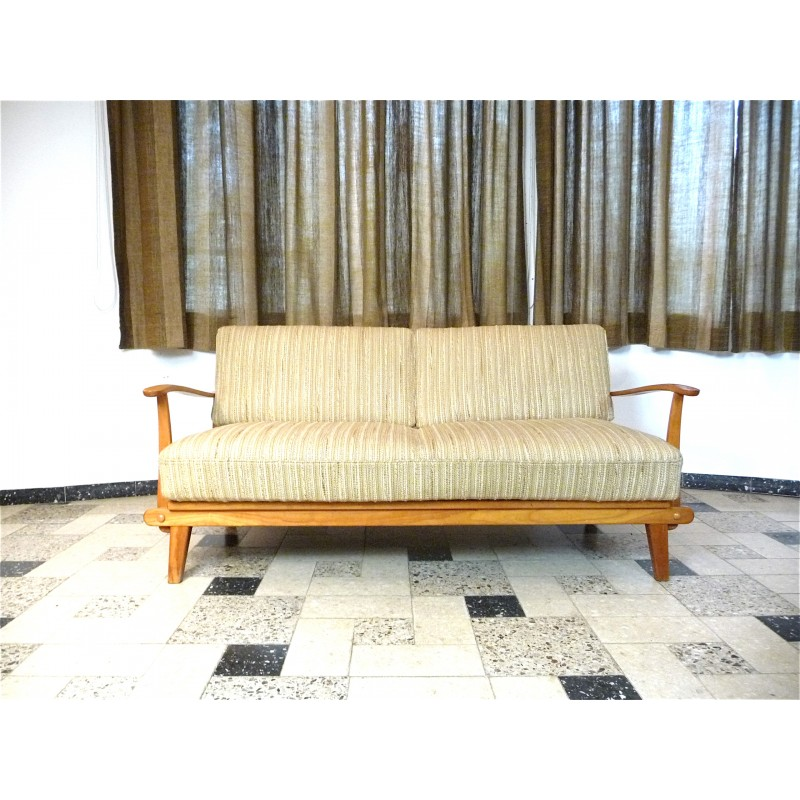 Mid-Century German Sofa Bed From Wilhelm Knoll - 1960s - Design Market