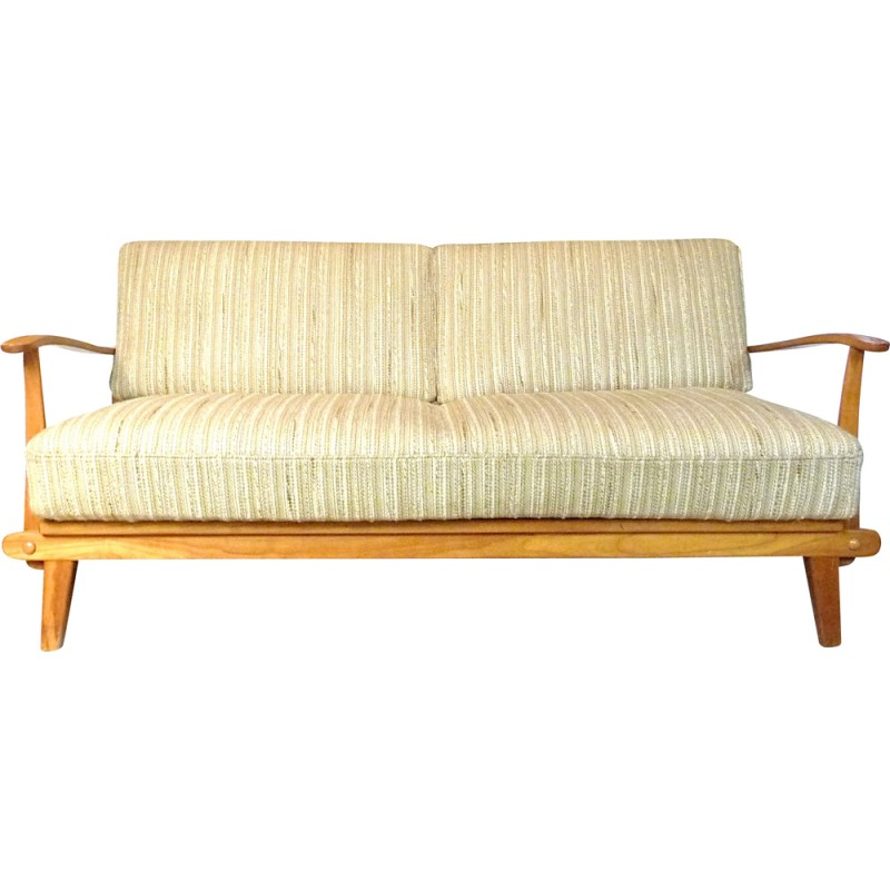 Mid Century German Sofa Bed From Wilhelm Knoll 1960s