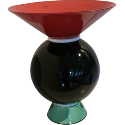 Yemen multi-coloured vase in Murano glass by Ettore Sottsass for Venini - 1990s