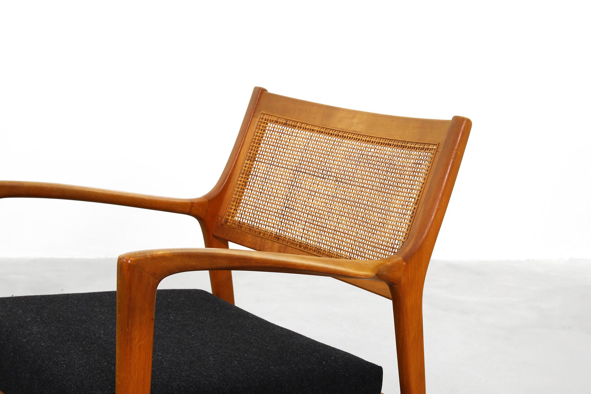 JOC Mobler Pair of F139 lounge chairs, Karl Erik Ekselius - 1960s ...