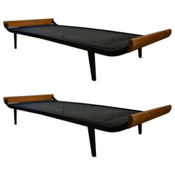 Pair of Auping Cleopatra daybed, Dick Cordemeijer - 1950s