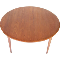 Mid century teak coffee table by Peter Hvidt and Orla Mølgaard Nielsen by France and Son - 1950s
