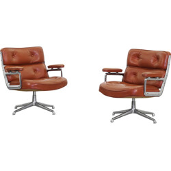 Pair of Herman Miller ES105 lounge chairs, Charles & Ray Eames - 1960s