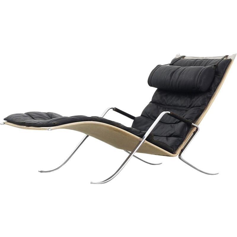 Grasshopper lounge chair by Fabricius Kastholm for Kill International - 1960s