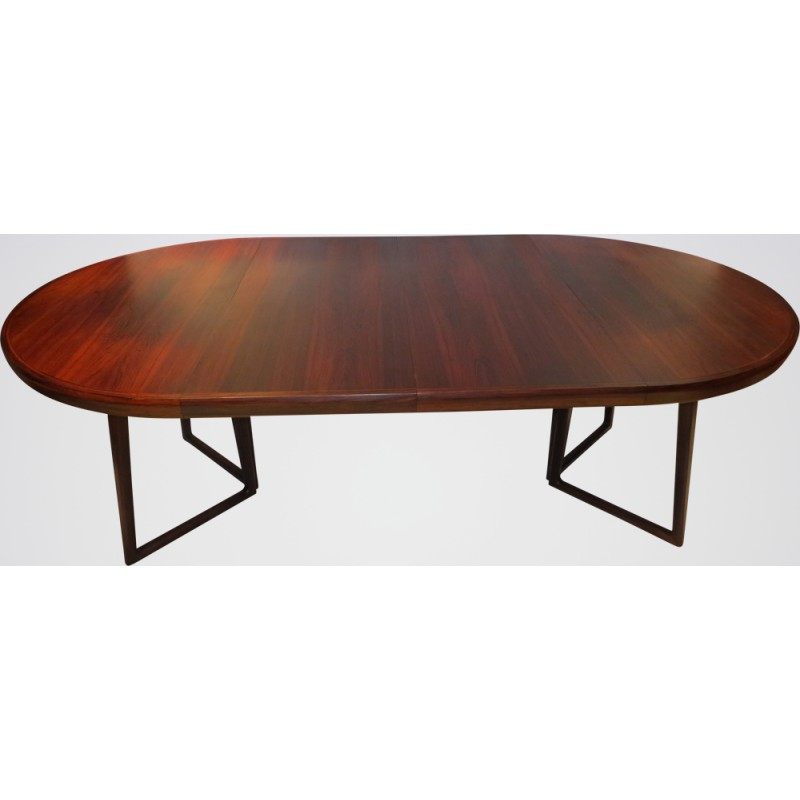 Dining Table In Brazilian Rosewood Helge Sibast 1960s