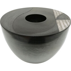 Pot in ceramic by Jacques Dessauvage also called Tjok - 2000s
