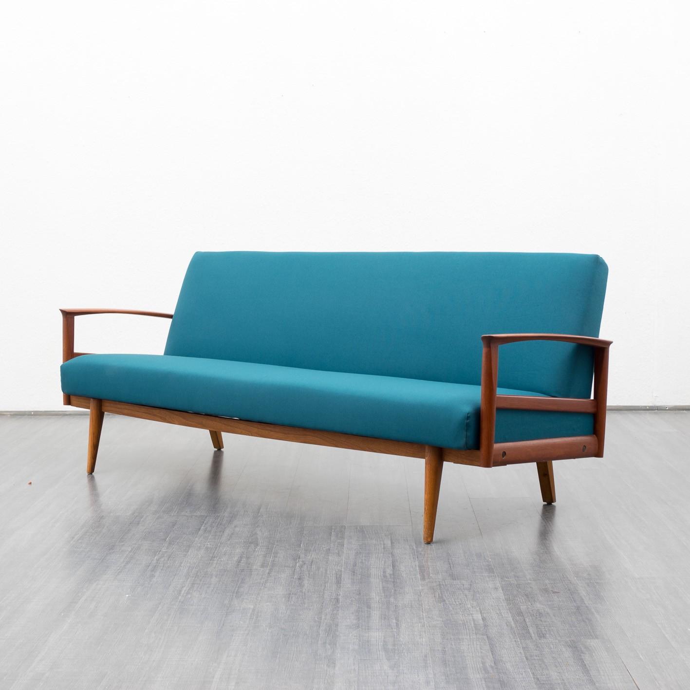 Convertible sofa in teak 1960s Design Market