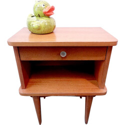 Small night stand with 1 drawer - 1960s