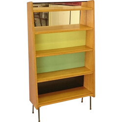 French bookcase with shelves - 1950s