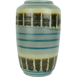 Scheurich mid-century vase model 517-30 abstract pattern - 1950s