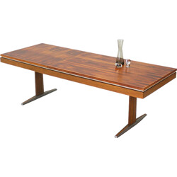 Rosewood coffee table - 1970s