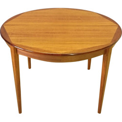 Scandinavian table made or rosewood - 1950s