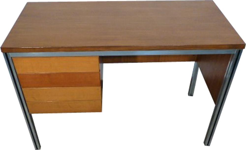 Vintage wooden desk 1970s design market
