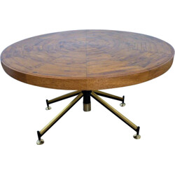 Vintage wooden coffee table - 1960s