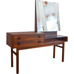 Dressing table in Rio rosewood - 1950s