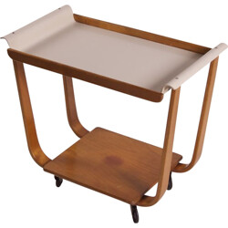 Serving Trolley Rolo model PB01 by Cees Braakman for UMS Pastoe - 1950s