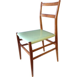 Set of 4 chairs model 6463 by Gio Ponti, Cassina - 1950s