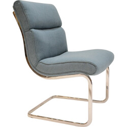 Blue armchair from ex-GDR - 1970s