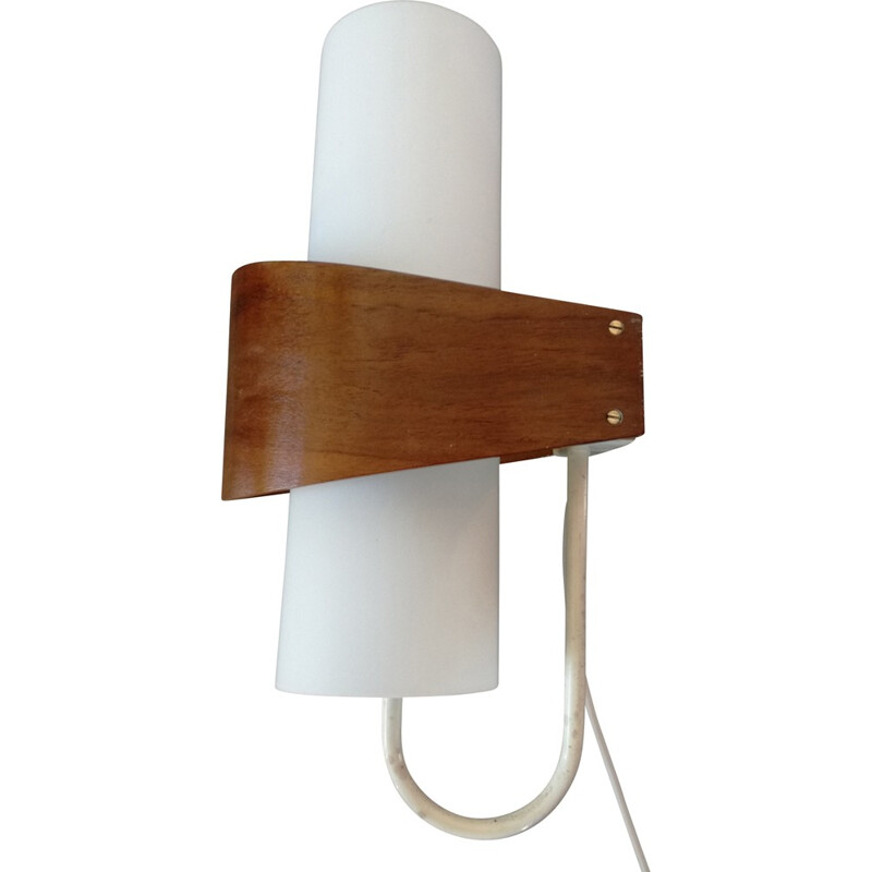 Vintage scandinavian wall lamp by Louis Kalff for Philips- 1960s
