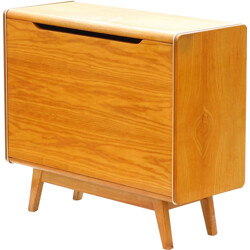 Bedclothes cabinet produced by Jitona Czechoslovakia - 1960s