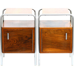 Set of bedside tables, Kovona - 1950s