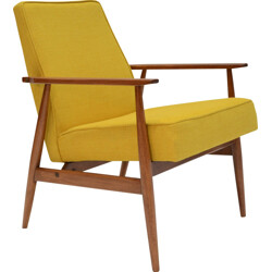 Vintage yellow armchairs - 1960s