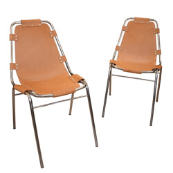 "A pair of ""Les Arcs"" Chairs - 1970s"